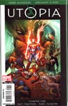 Dark Avengers Uncanny X-Men Utopia #1 Cover A 1st Ptg Regular Marc Silvestri Cover (Utopia Part 1)