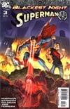 Blackest Night Superman #3 Cover A 1st Ptg Regular Eddy Barrows Cover