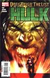 Dark Reign The List Part 5 Hulk Cover A 1st Ptg Regular Ben Oliver Cover