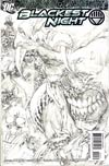 Blackest Night #4 Cover C Incentive Ivan Reis Sketch Variant Cover