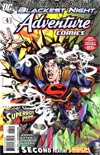 Adventure Comics Vol 2 #4 Cover A Regular Jerry Ordway Cover (Blackest Night Tie-In)