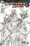 Blackest Night #5 Cover C Incentive Ivan Reis Sketch Cover
