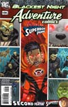 Adventure Comics Vol 2 #5 Cover B Incentive Adventure Comics 508 Francis Manapul Variant Cover (Blackest Night Tie-In)