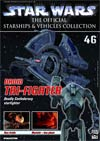 Star Wars Official Starships And Vehicles Collection Magazine #46 Droid Tri-Fighter