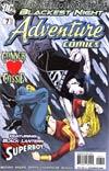 Adventure Comics Vol 2 #7 Cover A Regular Aaron Lopresti Cover (Blackest Night Tie-In)