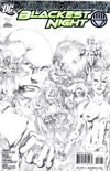 Blackest Night #7 Cover C Incentive Ivan Reis Sketch Cover