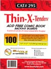 Bill Cole THIN-X-TENDERS Super Golden Age Size Boards 100-Count