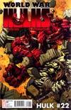Hulk Vol 2 #22 Incentive David Finch Variant Cover (World War Hulks Tie-In)