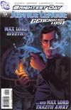 Justice League Generation Lost #5 Cover A Regular Tony Harris Cover (Brightest Day Tie-In)
