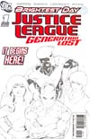 Justice League Generation Lost #1 Cover C 2nd Ptg (Brightest Day Tie-In)