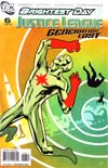 Justice League Generation Lost #6 Cover A Regular Cliff Chiang Cover (Brightest Day Tie-In)