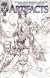 Artifacts #1 Cvr D Incentive Top Cow Jam Sketch Cover