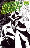 Kevin Smiths Green Hornet #7 Cover E Incentive John Cassaday Black & White & Green Cover