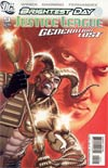Justice League Generation Lost #9 Cover B Incentive Kevin Maguire Variant Cover (Brightest Day Tie-In)