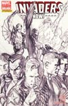 Invaders Now #1 Incentive Alex Ross Sketch Variant Cover