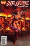 Red Sonja Vol 4 #51 Regular Joseph Michael Linsner Cover