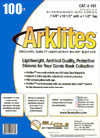 Bill Cole ARKLITES Silver / Golden Age Size 1-mm Mylar Bags 100-Count
