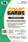 Bill Cole COMIC GARDS Standard Size 4-mm Mylar Sleeves 50-Count