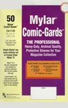Bill Cole COMIC GARDS Magazine Size 4-mm Mylar Sleeves 50-Count