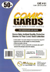 Bill Cole COMIC GARDS Silver / Golden Age Size 4-mm Mylar Sleeves 50-Count