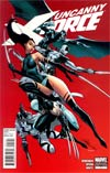 Uncanny X-Force #1 Incentive J Scott Campbell Variant Cover