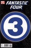 Fantastic Four Vol 3 #583 Incentive 3 Logo Variant Cover