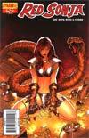 Red Sonja Vol 4 #52 Paul Renaud Cover