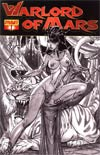 Warlord Of Mars #1 Incentive J Scott Campbell Sketch Cover
