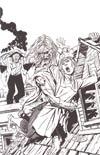 Angel vs Frankenstein II Incentive John Byrne Virgin Sketch Cover