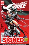 Uncanny X-Force #1 J Scott Campbell Midtown Comics Variant Cover Signed By Jerome Opena & Rick Remender