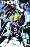 Thor Vol 3 #617 Incentive Brandon Peterson Tron Variant Cover