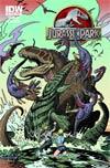 Jurassic Park Redemption #5 Incentive William Stout Print