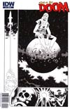 Edge Of Doom #2 Incentive Kelley Jones Sketch Cover