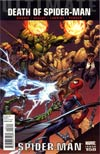 Ultimate Comics Spider-Man #158 Regular Mark Bagley Cover (Death Of Spider-Man Part 6)