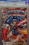 Captain America Vol 2 #1 CGC 9.8