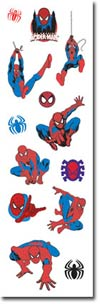 Spider-Man Foam Slim Sticker Pack