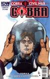 Cobra #1 Regular Cover C (Cobra Civil War Tie-In)