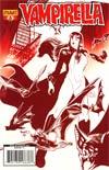 Vampirella Vol 4 #6 Incentive Paul Renaud Blood Red Cover
