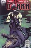 Cobra #2 Regular Cover A (Cobra Civil War Tie-In)