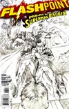 Flashpoint #3 Cover B Incentive Andy Kubert Sketch Cover