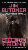 Storm Front The Dresden Files Vol 1 MMPB Signed By Jim Butcher