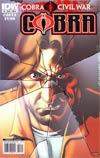 Cobra #3 Regular Cover A (Cobra Civil War Tie-In)