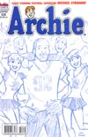 Archie #626 Variant Dan Parent Sketch Cover