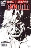 Cobra #3 Incentive David Williams Sketch Cover (Cobra Civil War Tie-In)