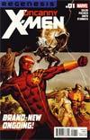 Uncanny X-Men Vol 2 #1 Cover A 1st Ptg Regular Carlos Pacheco Cover (X-Men Regenesis Tie-In)