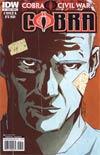 Cobra #7 Regular Cover B (Cobra Civil War Tie-In)