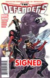 Defenders Vol 4 #1 DF Signed By Terry Dodson