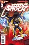 Static Shock #1 2nd Ptg