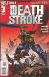 Deathstroke Vol 2 #1 2nd Ptg