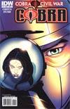 Cobra #7 Regular Cover A (Cobra Civil War Tie-In)